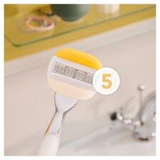 image 2 of Gillette Venus Comfortglide Olay Blades 3 Pack