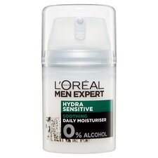 image 3 of Loreal Men 50Ml Hydrating Sensitive Hydrating Cream