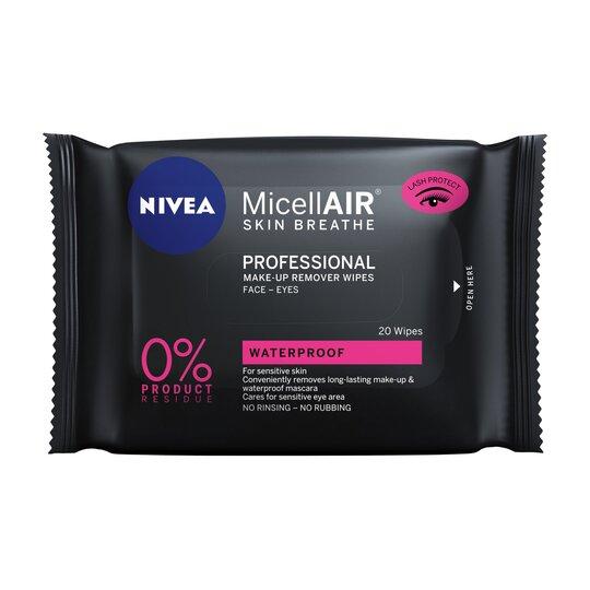 Nivea Micellair Make Up Remover Wipes 20'S
