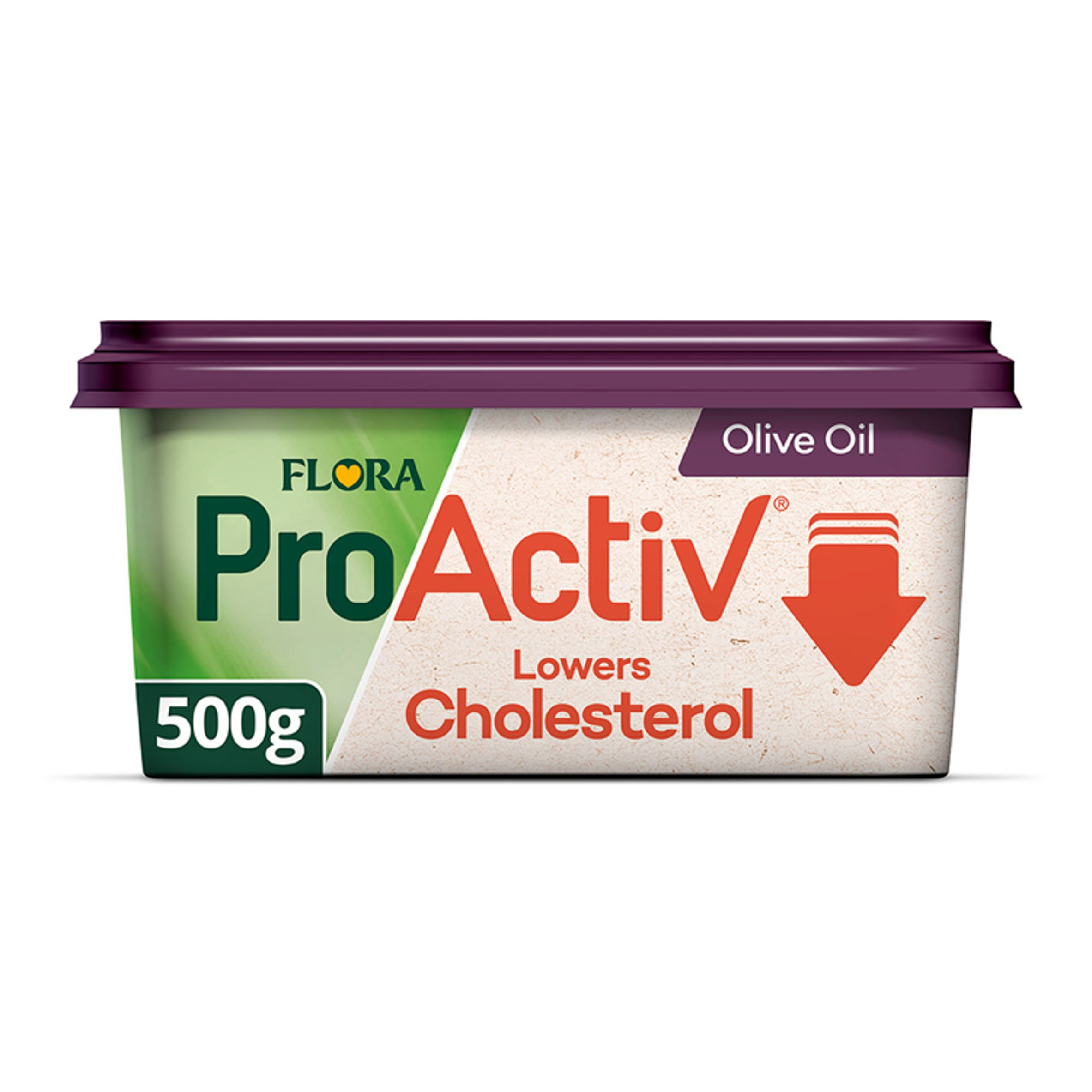 Flora Pro Activ Olive Oil Spread 500G