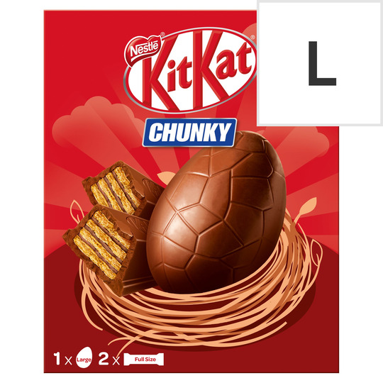 Kit Kat Chunky Milk Chocolate Large Egg 260G