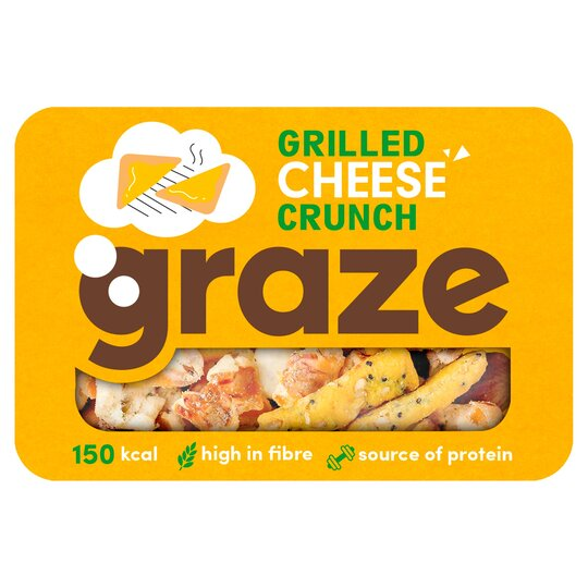 Graze Grilled Cheese Crunch 27G