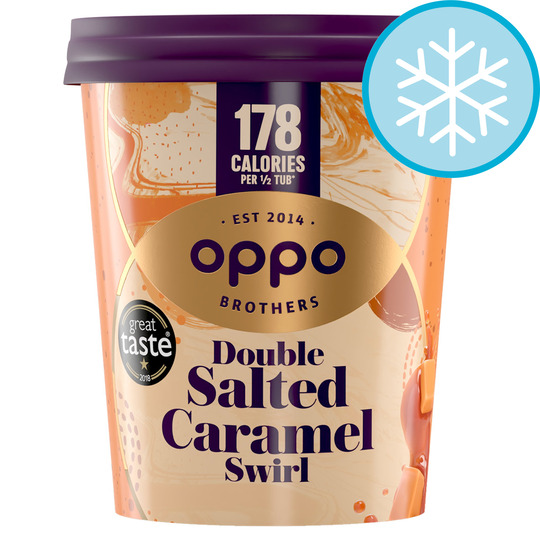 image 1 of Oppo Double Salted Caramel Ice Cream 475Ml