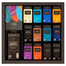 image 2 of Green & Blacks Organic Tasting Collection Boxed Chocolates 395G
