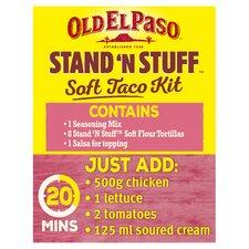 image 2 of Old El Paso Crispy Chicken Dinner Kit 351G