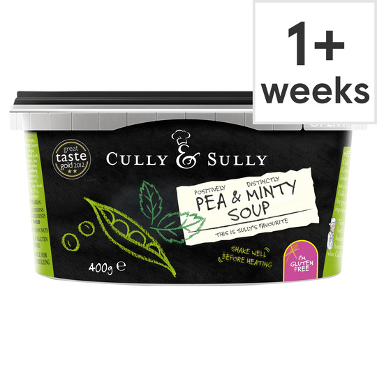 image 1 of Cully & Sully Pea & Minty Soup 400G