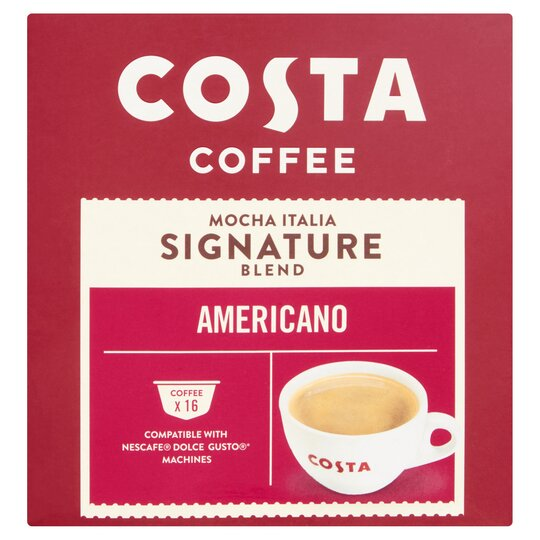 Costa Dolce Gusto Americano 16 Pack 1216g