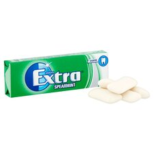 image 2 of Extra Spearmint Gum 10 Pieces