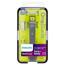 image 1 of Philips Oneblade Face & Body Trimmer