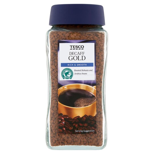 Tesco Gold Decaffeinated Instant Coffee 100g