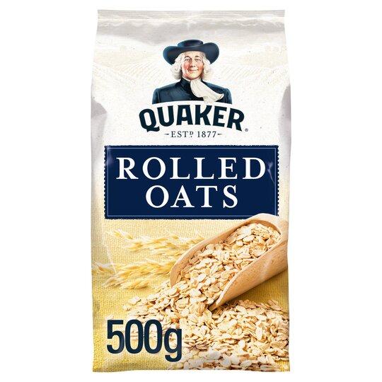 Quaker Traditional Porridge Oats 500G