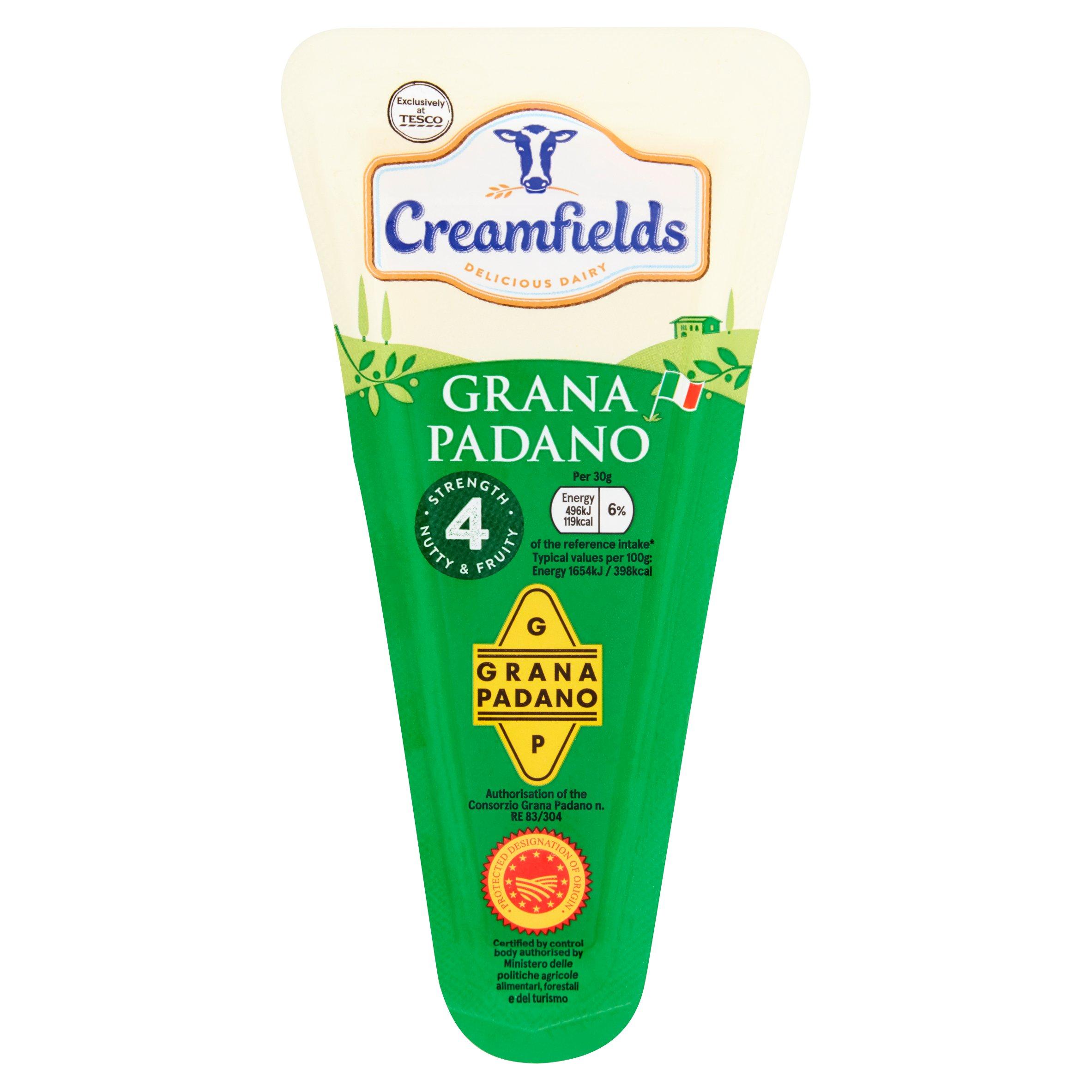 Creamfields Grana Padano Wedge 175G