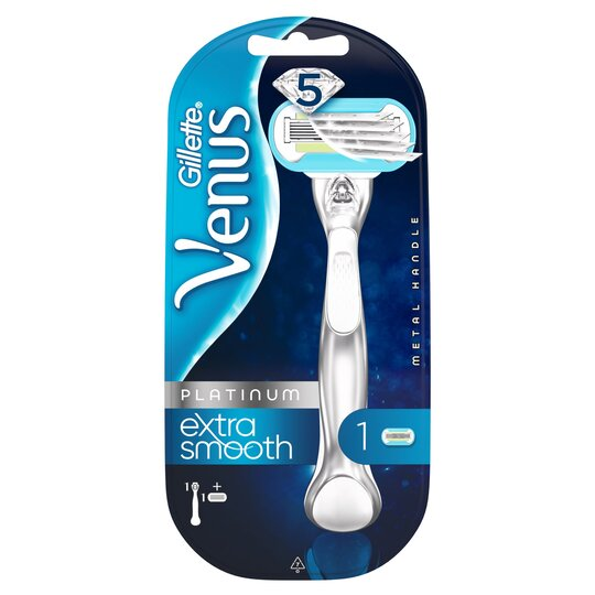 image 1 of Gillette Venus Extra Smooth Platinum Razor