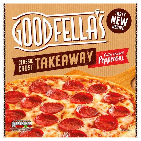 Goodfella's Classic Crust Takeaway Pepperoni Pizza 524G
