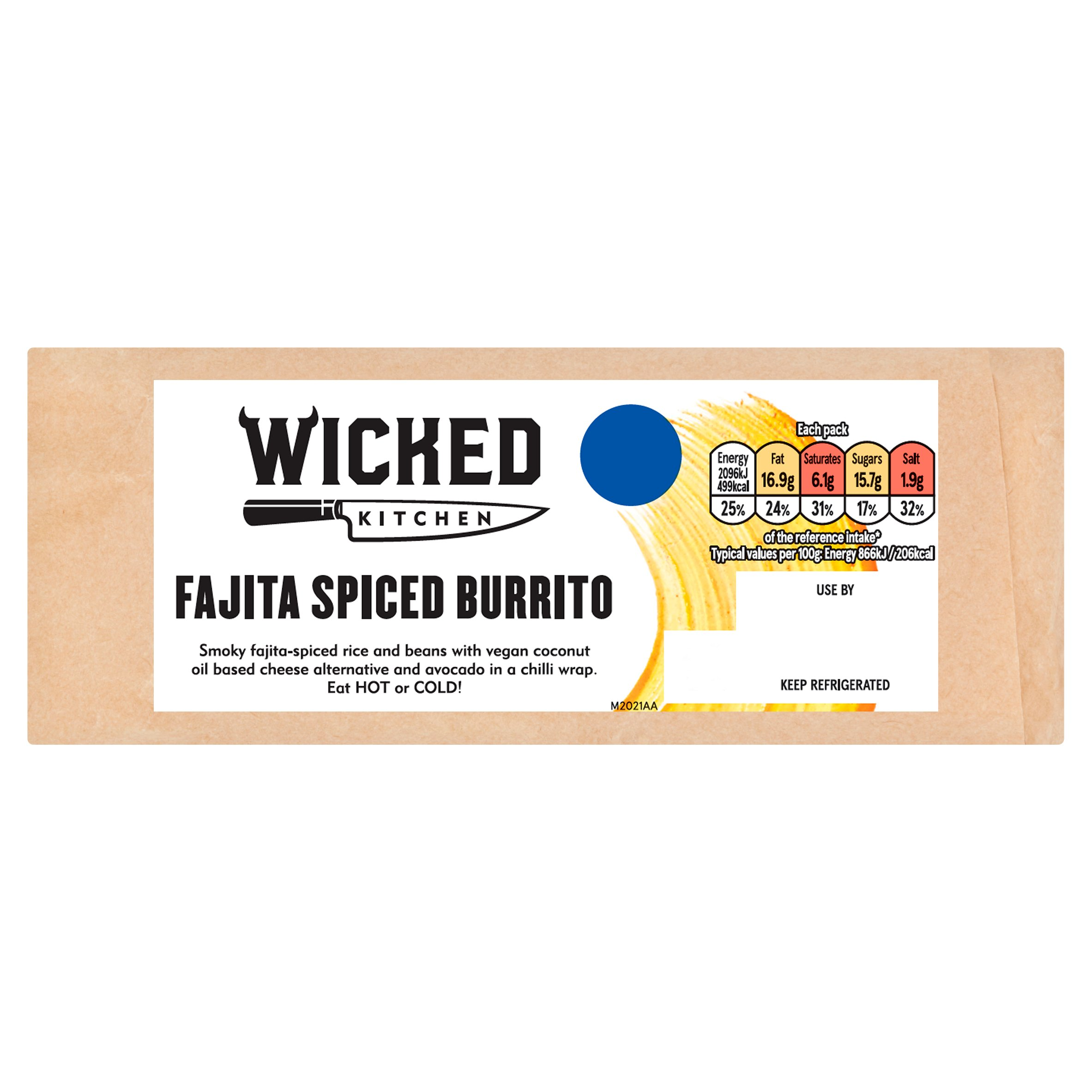 Wicked Kitchen Fajita Spiced Burrito