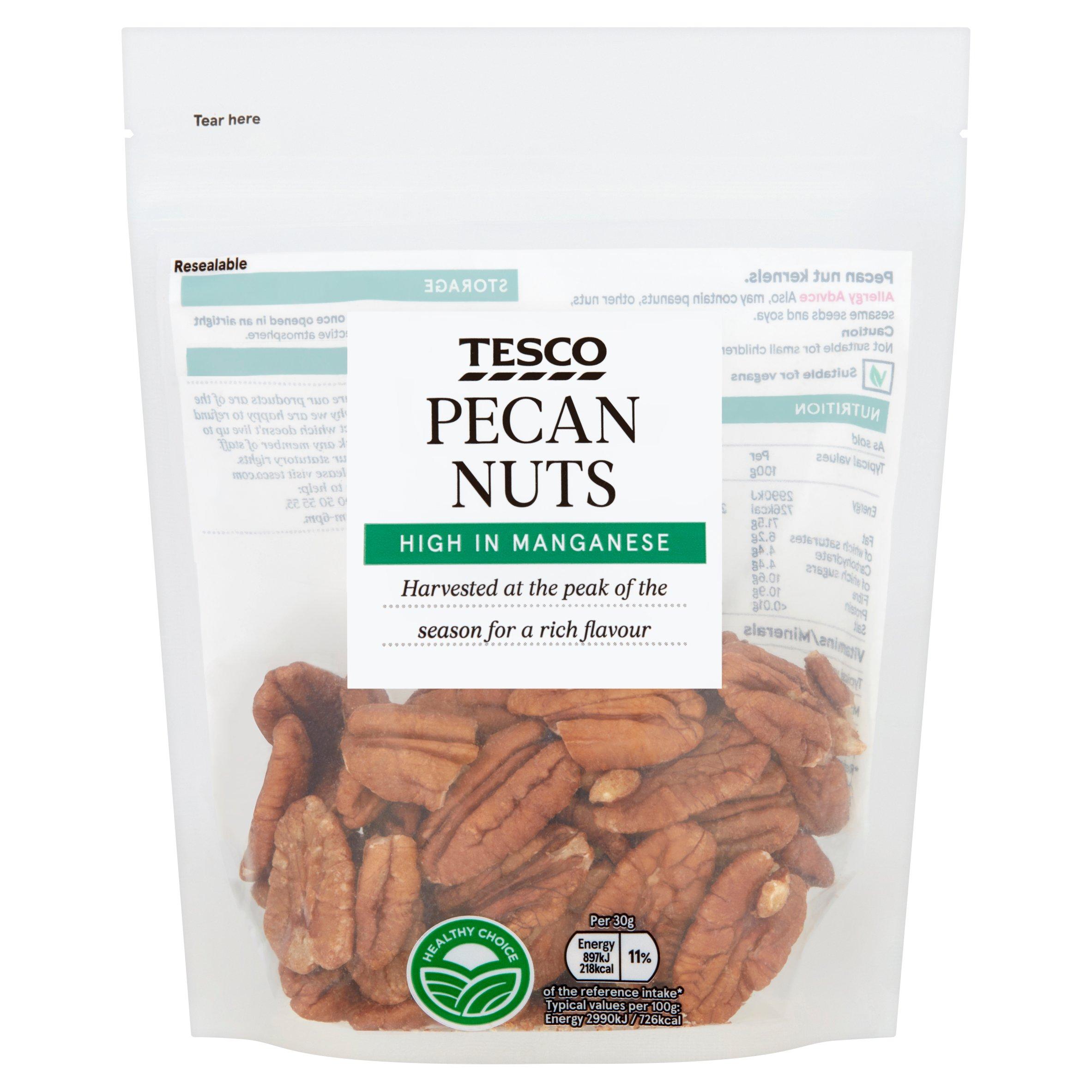 Tesco Pecan Nuts 100G