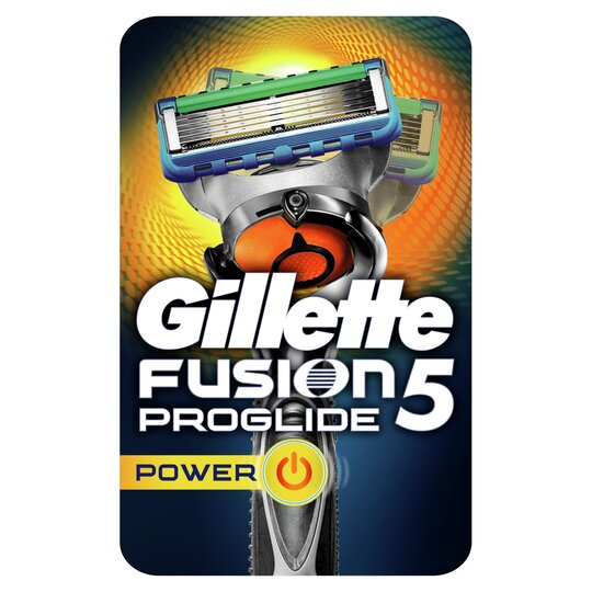 image 1 of Gillette Fusion Proglide Power Razor With Flexball Technology
