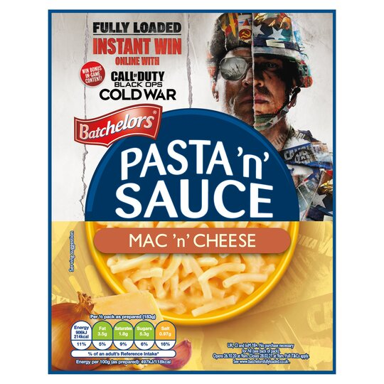 Batchelors Pasta & Sauce Macaroni & Cheese Quick Cook 99G