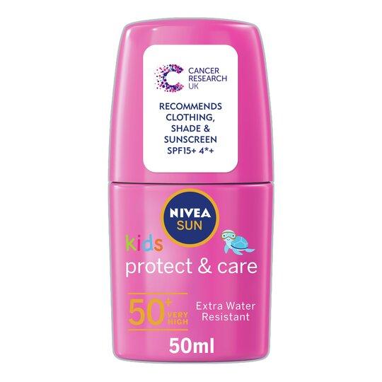 image 1 of Nivea Sun Kids Pink Roll On Spf50+ 50Ml