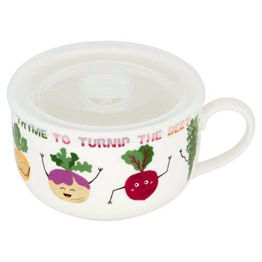 Tesco Vegetable Punnet Soup Mug