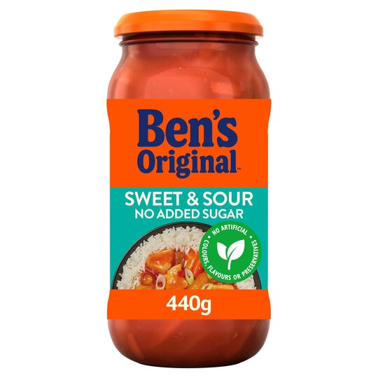 image 1 of Bens Original Sweet & Sour No Added Sugar Sauce 440G
