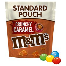 image 2 of M&M's Chocolate Crunchy Caramel Pouch 109G