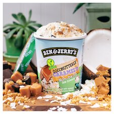 image 3 of Ben & Jerry's Non Dairy Coconut & Caramel Ice Cream 465Ml