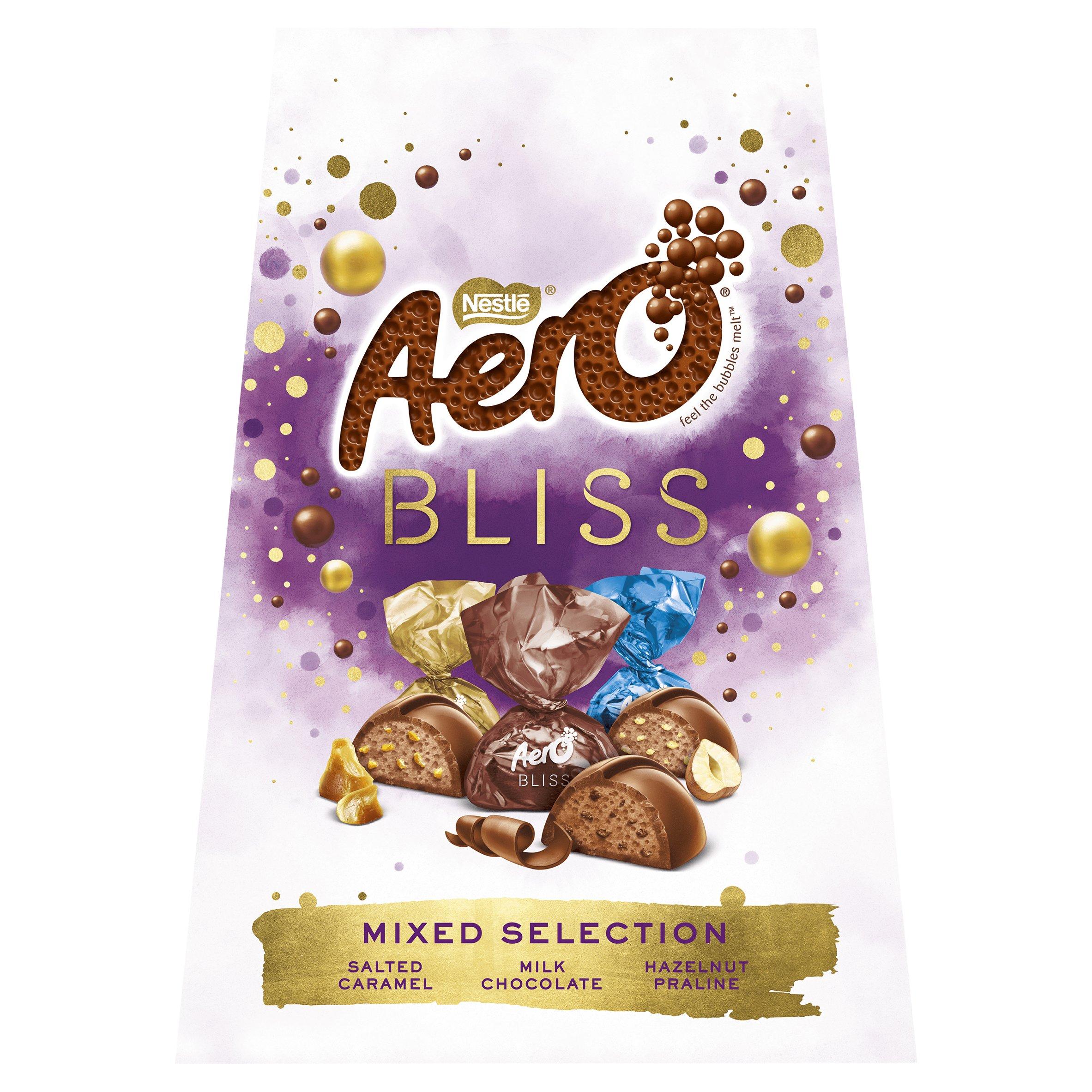 Nestle Aero Bliss Mixed Chocolate Sharing Box 177G