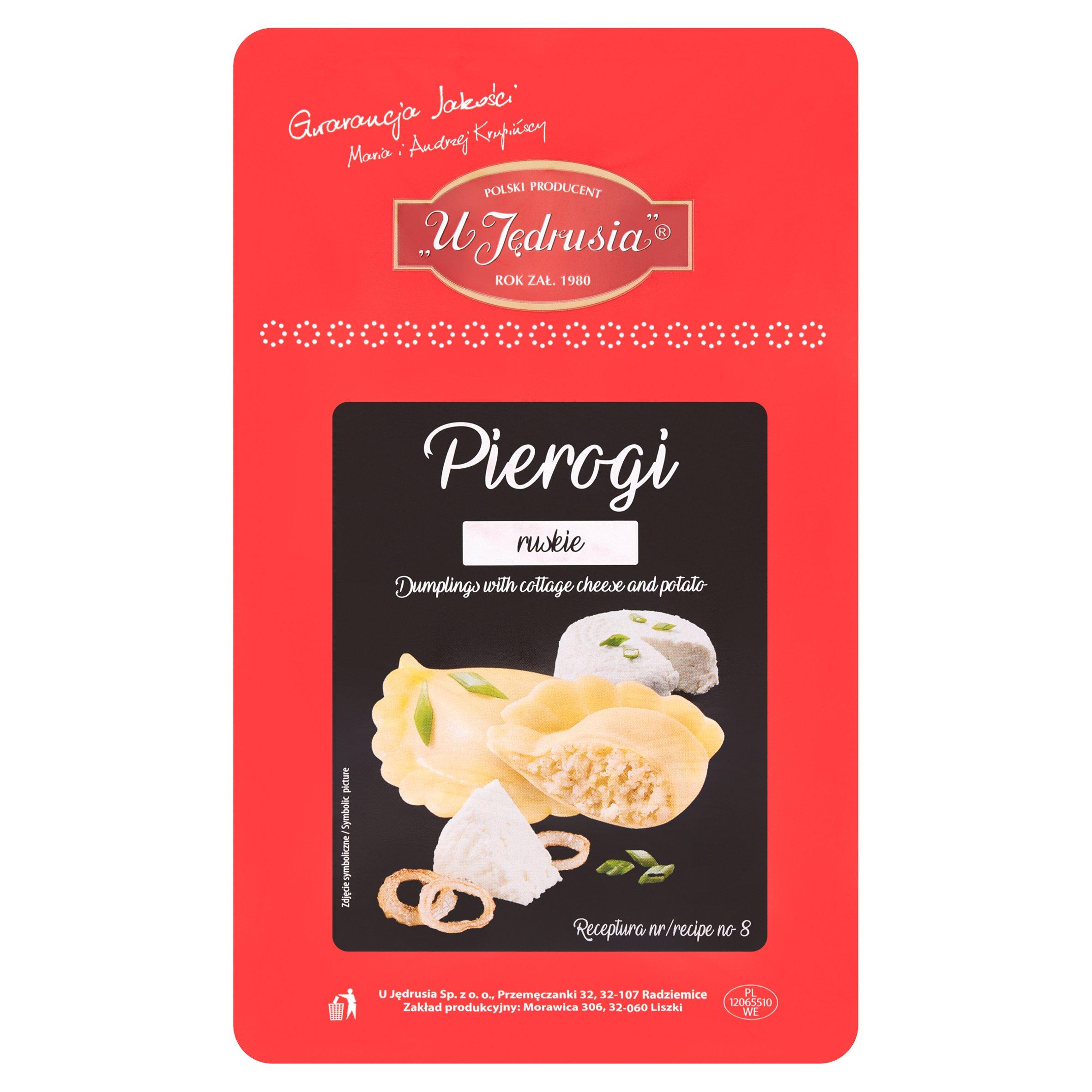 U Jedrusia Cottage Cheese Dumplings 400G