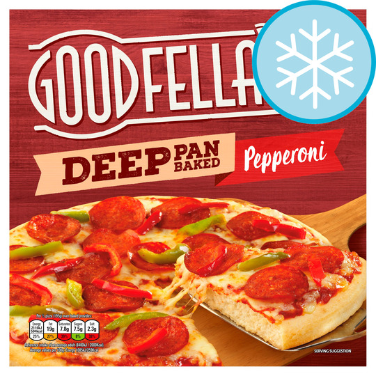 Goodfella's Deep Pepperoni Pizza 415G