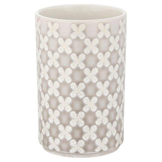 Tesco Grey Design Ceramic Tumbler Tesco Groceries