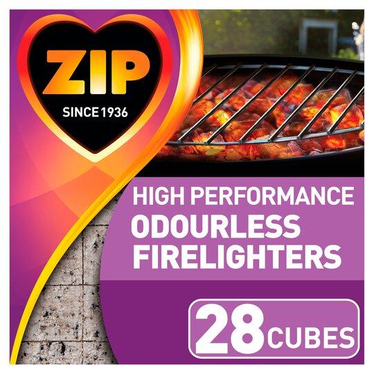 Zip Odourless Firelighters 28 Pack
