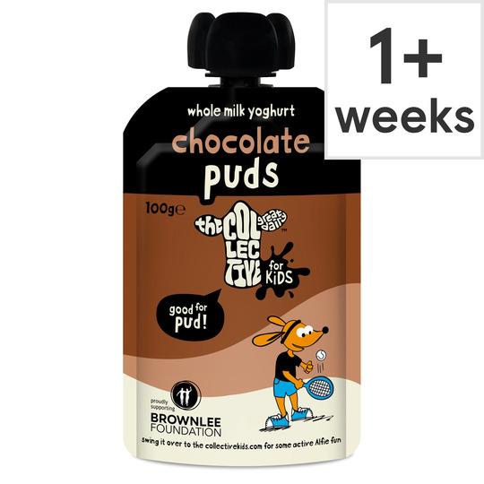 The Collective Dairy Kids Puddings Chocolate Yogurt 100G
