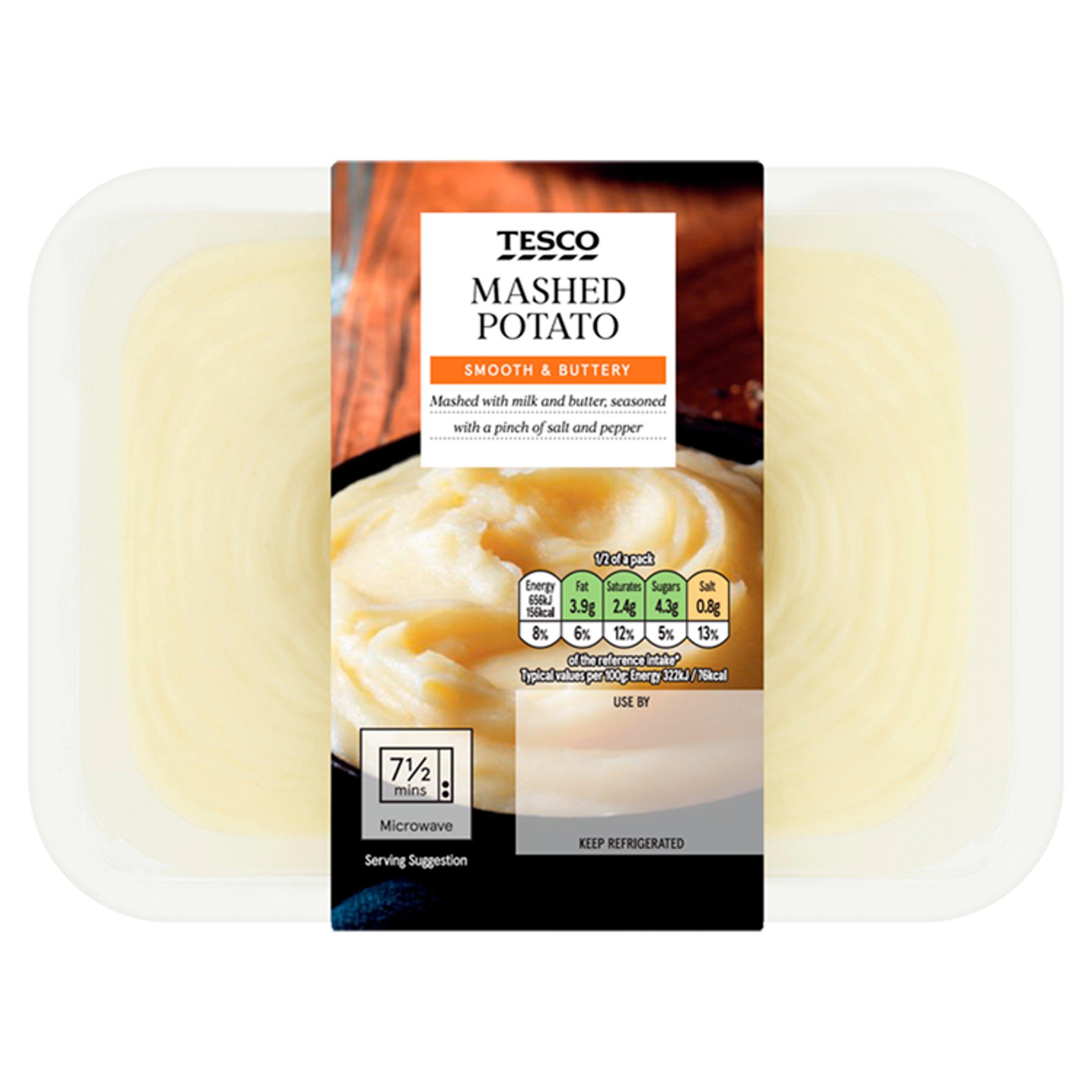 Tesco Mashed Potato 425G