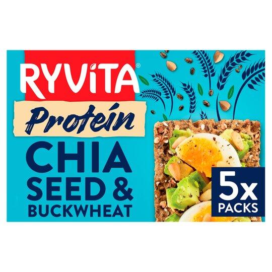 image 1 of Ryvita Chia Seed & Buckwheat Protein Crisp Bread 200G