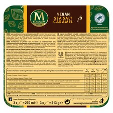 image 2 of Magnum Vegan Sea Salt Caramel Ice Cream 3 X 90Ml