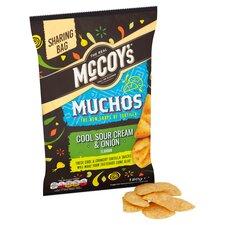 image 2 of Mccoy's Muchos Sour Cream & Onion Tortilla 180G