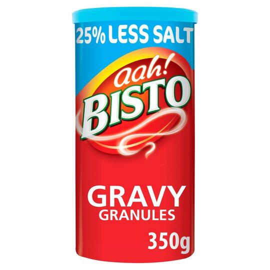 Bisto Traditional Reduced Salt Gravy Granules 350G