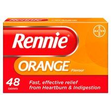 image 1 of Rennie Orange Indigestion Tablets 48'S