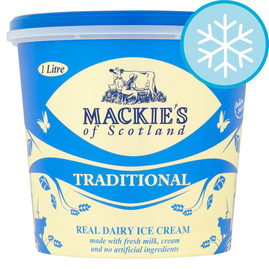 image 1 of Mackies Traditional Luxury Dairy Ice Cream 1 Litre
