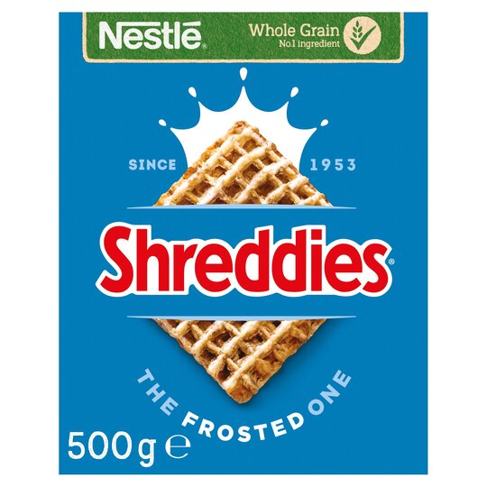Nestle Frosted Shreddies Cereal 500G
