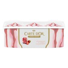 image 3 of Carte D'or Strawberry & Vanilla Ice Cream 850Ml