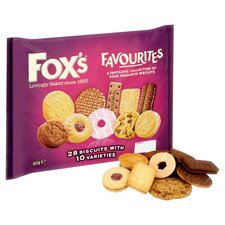 image 2 of Fox's Favourites Assortment Biscuits 365G