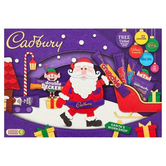 image 1 of Cadbury Madium Santa Selection Box 145G