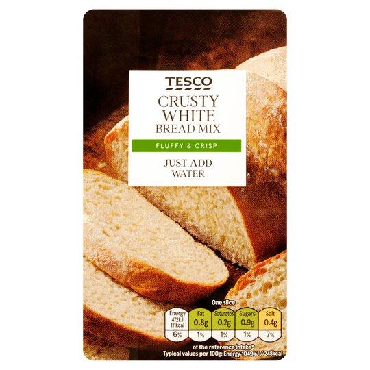 Tesco Crusty White Farmhouse Bread Mix 500g