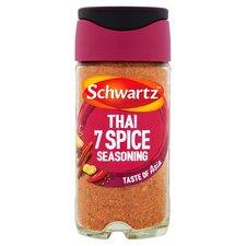 image 1 of Schwartz Thai 7 Spice Seasoning 52G Jar