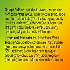 image 2 of Walls Calippo Mini Orange Lemon & Lime 6 X 80Ml