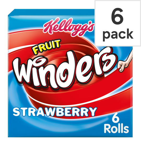 Kellogg's Duo Fruit Winders Strawberry 6 Pack