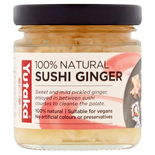 Yutaka Natural Sushi Ginger 120g Tesco Groceries