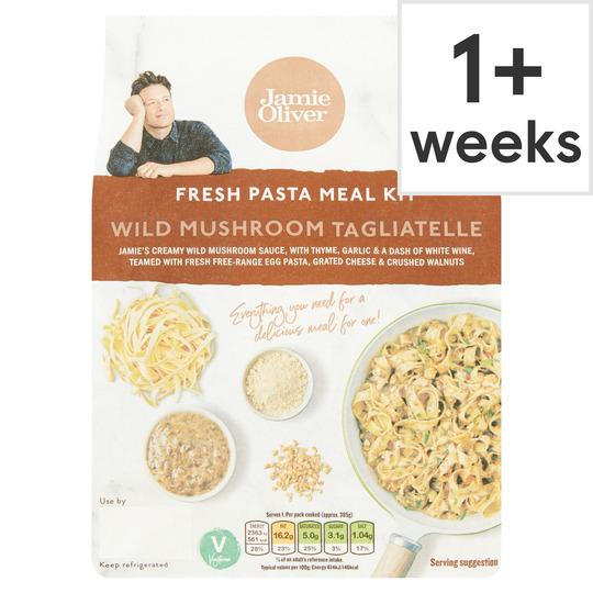 Jamie Oliver Wild Mushroom Tagliatelle 290G